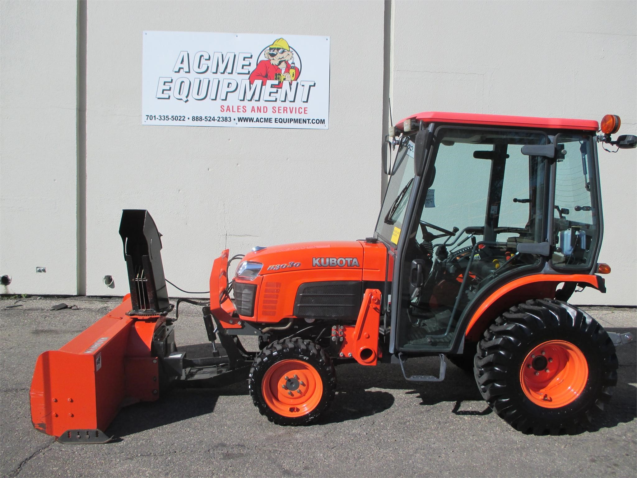 Used 2010 Kubota B3030hsdc Tractors Less Than 40 Hp Ebay