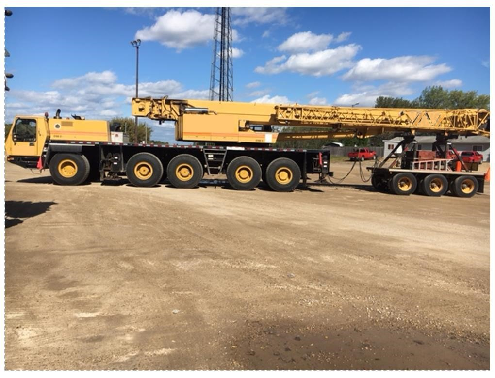 Detail photo of 2000 Grove GMK5150B from Construction Equipment Guide