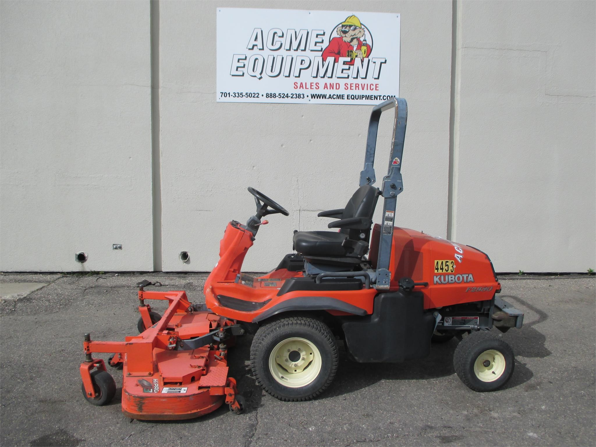 Used 2007 kubota f2880e other equipment riding lawn mowers ebay for Used lawn and garden equipment