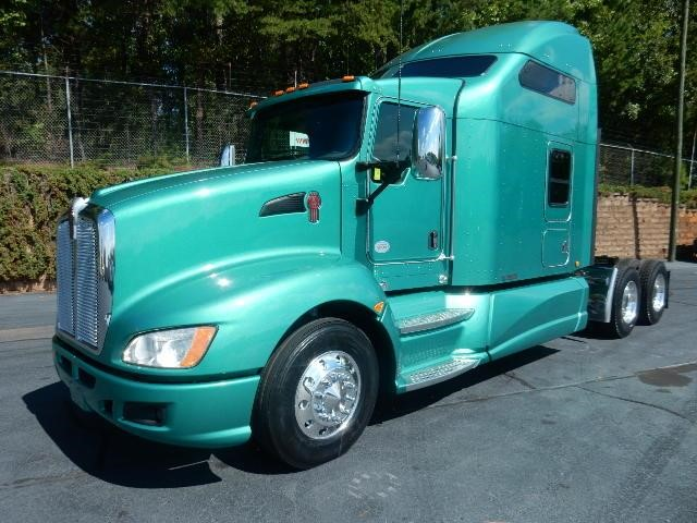 2009 kenworth t660 for sale for Kenworth t660 studio sleeper interior