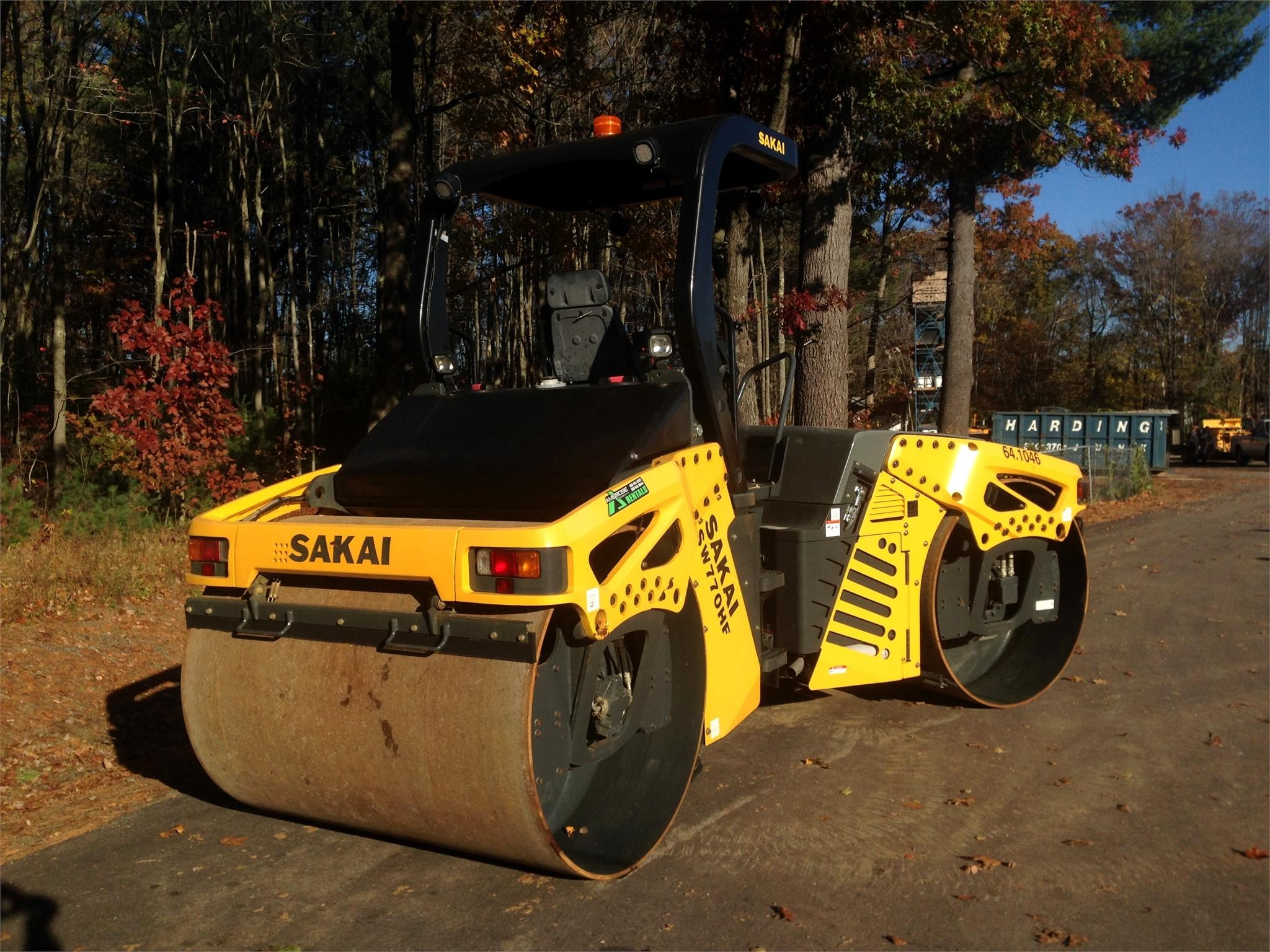Detail photo of 2015 Sakai SW770HF from Construction Equipment Guide
