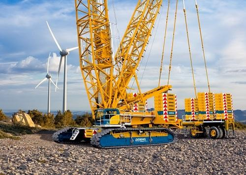 Detail photo of 2017 Demag CC3800-1 from Construction Equipment Guide