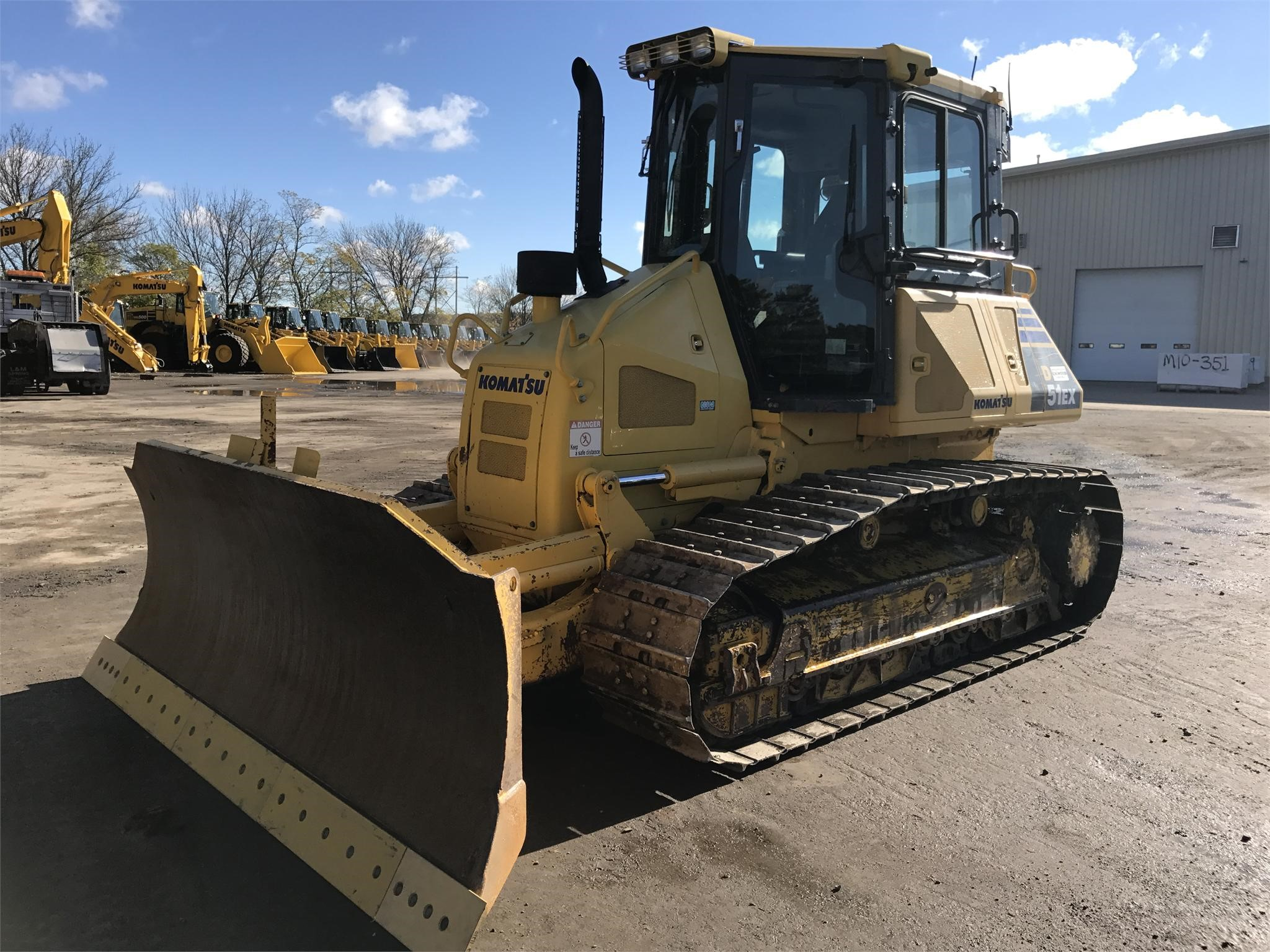 Detail photo of 2012 Komatsu D51EX-22 from Construction Equipment Guide