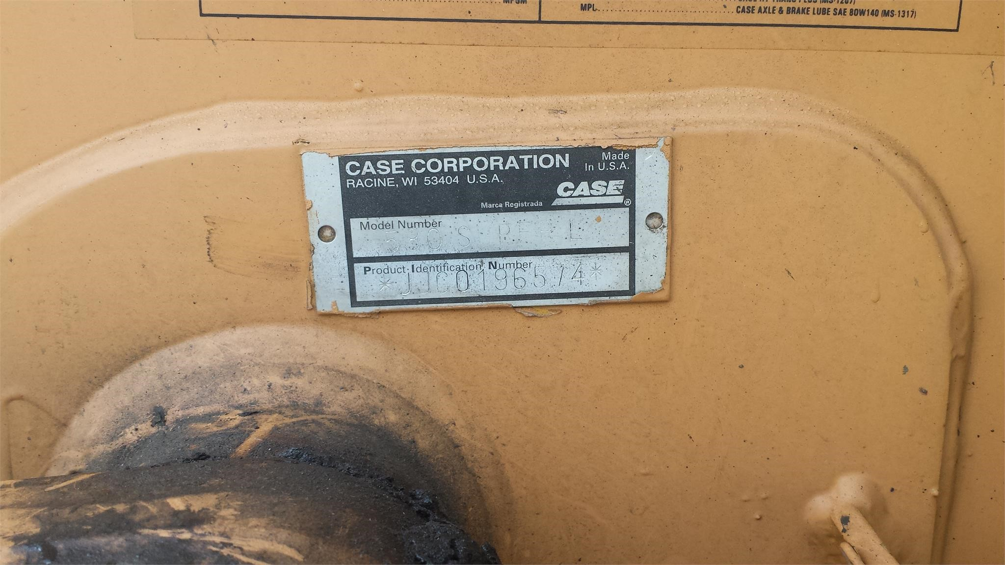 Detail photo of 1996 Case 580 SL from Construction Equipment Guide