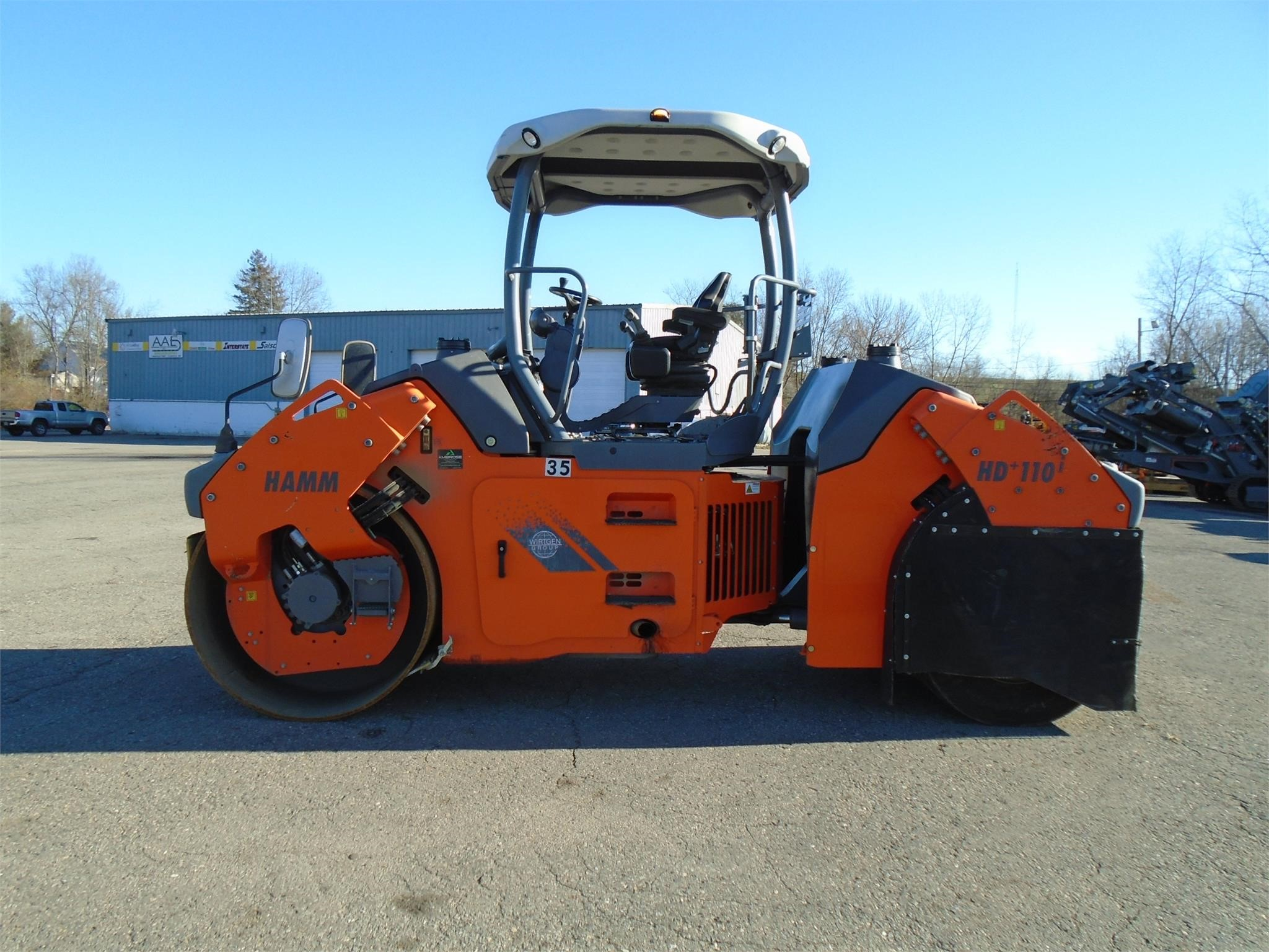 Detail photo of 2014 Hamm HD+110VT from Construction Equipment Guide