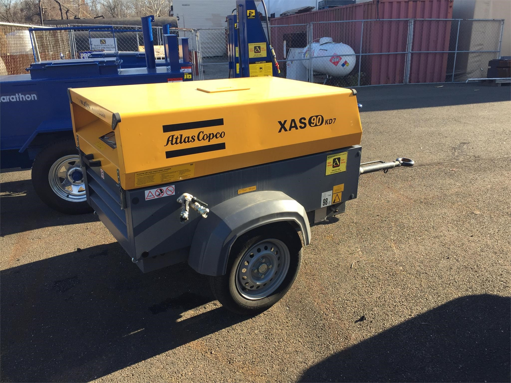 Detail photo of 2016 Atlas Copco XAS90 from Construction Equipment Guide