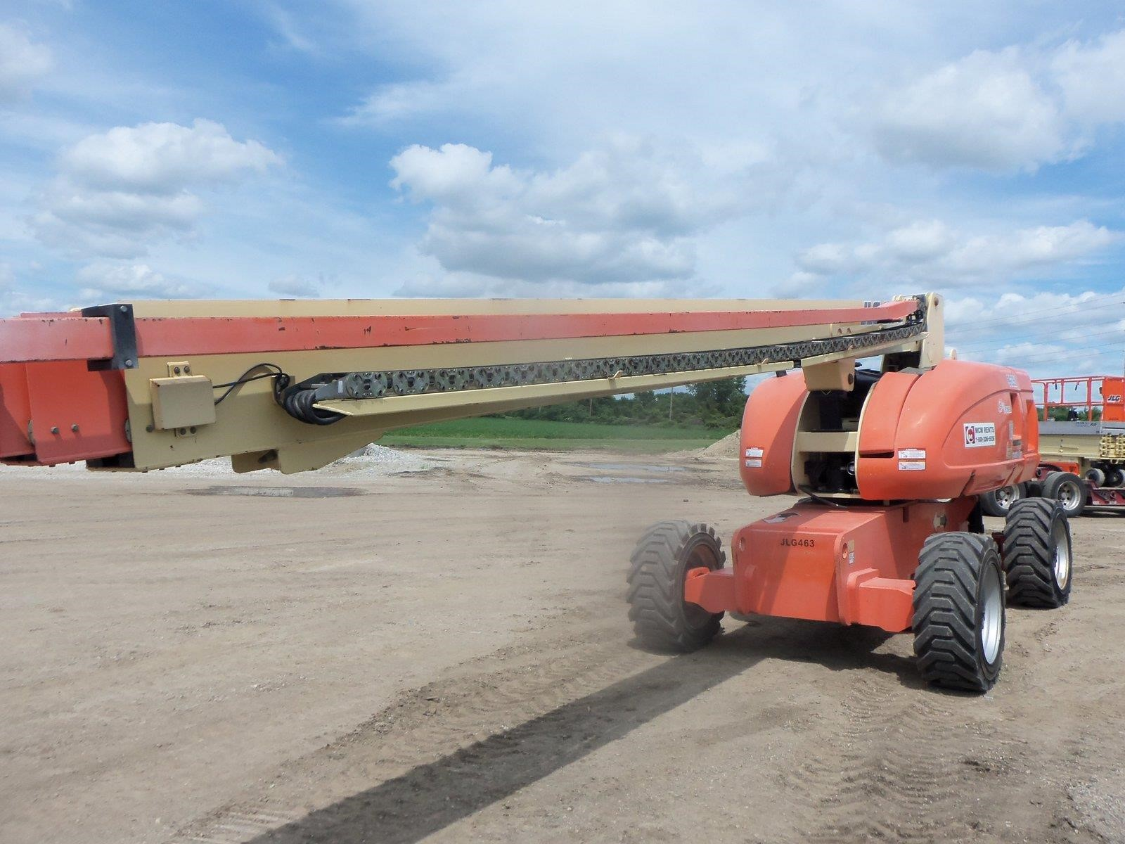 Detail photo of 2007 JLG 860SJ from Construction Equipment Guide