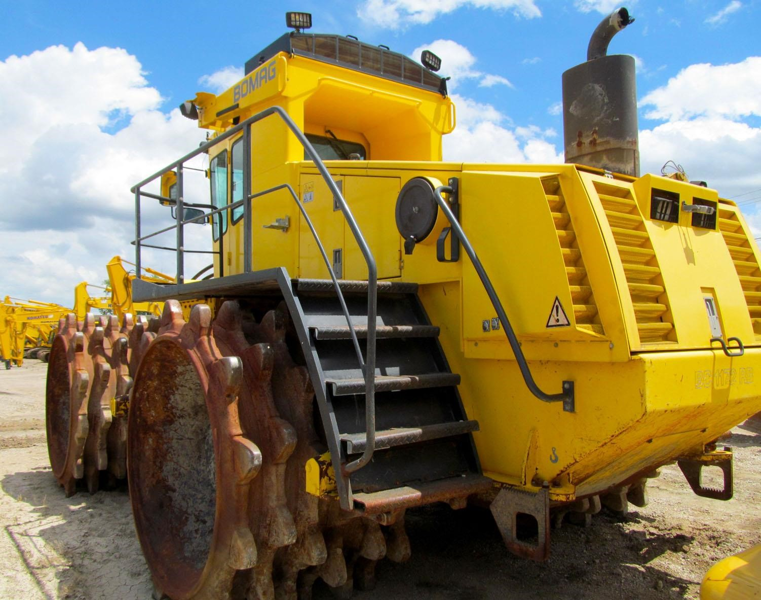 Detail photo of 2005 Bomag BC 1172 RB from Construction Equipment Guide