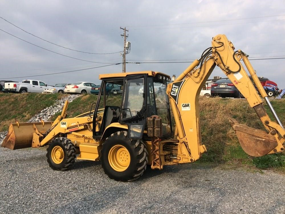 Detail photo of  Caterpillar 416 from Construction Equipment Guide