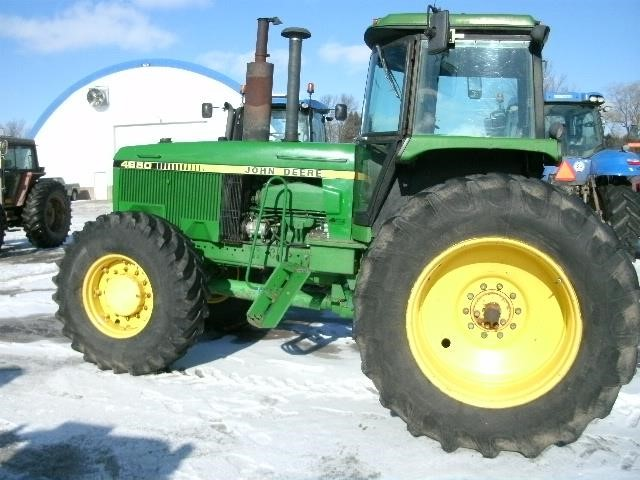 Detail photo of 1988 John Deere 4650 from Construction Equipment Guide