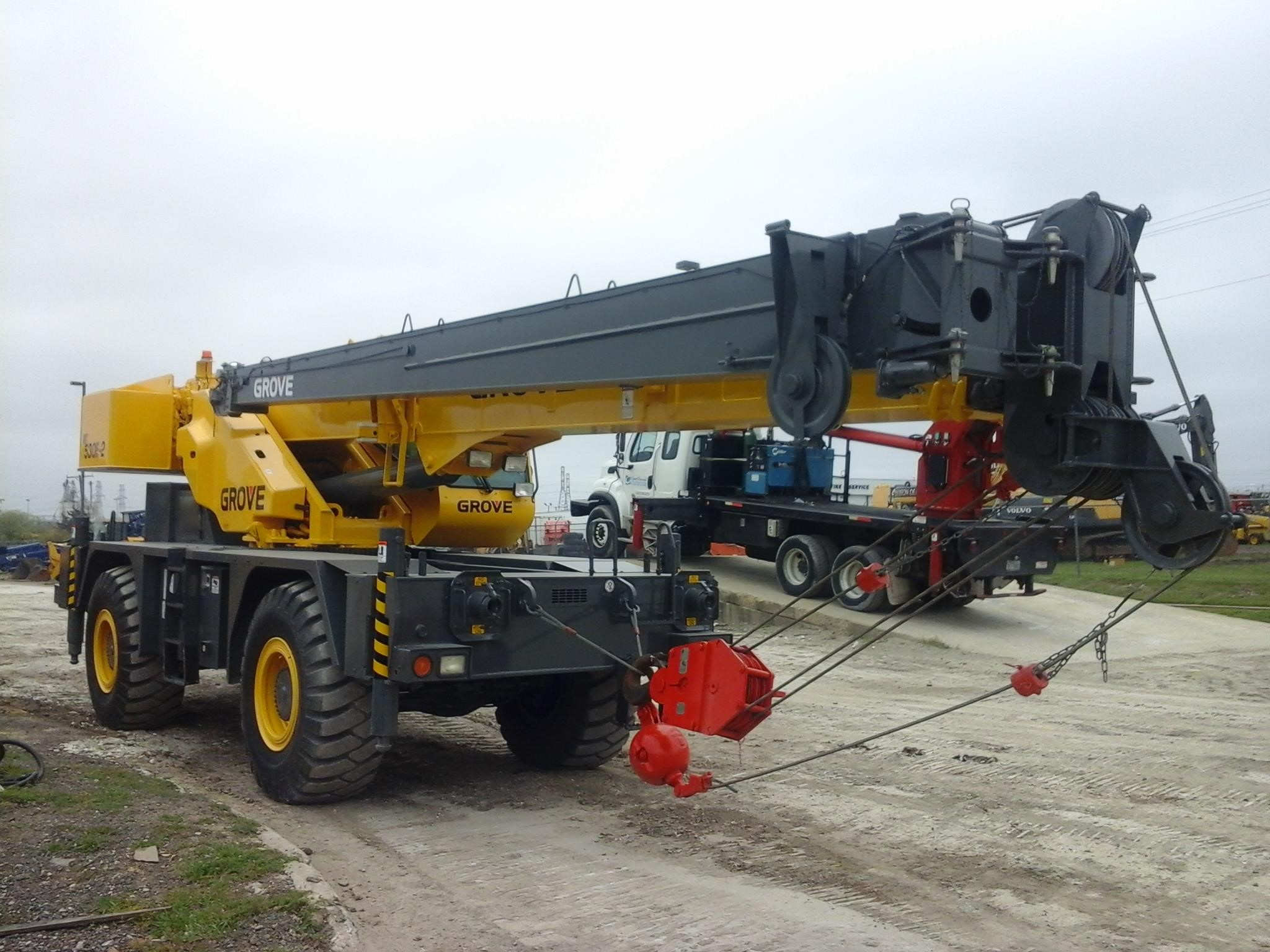 Detail photo of 2007 Grove RT530E from Construction Equipment Guide