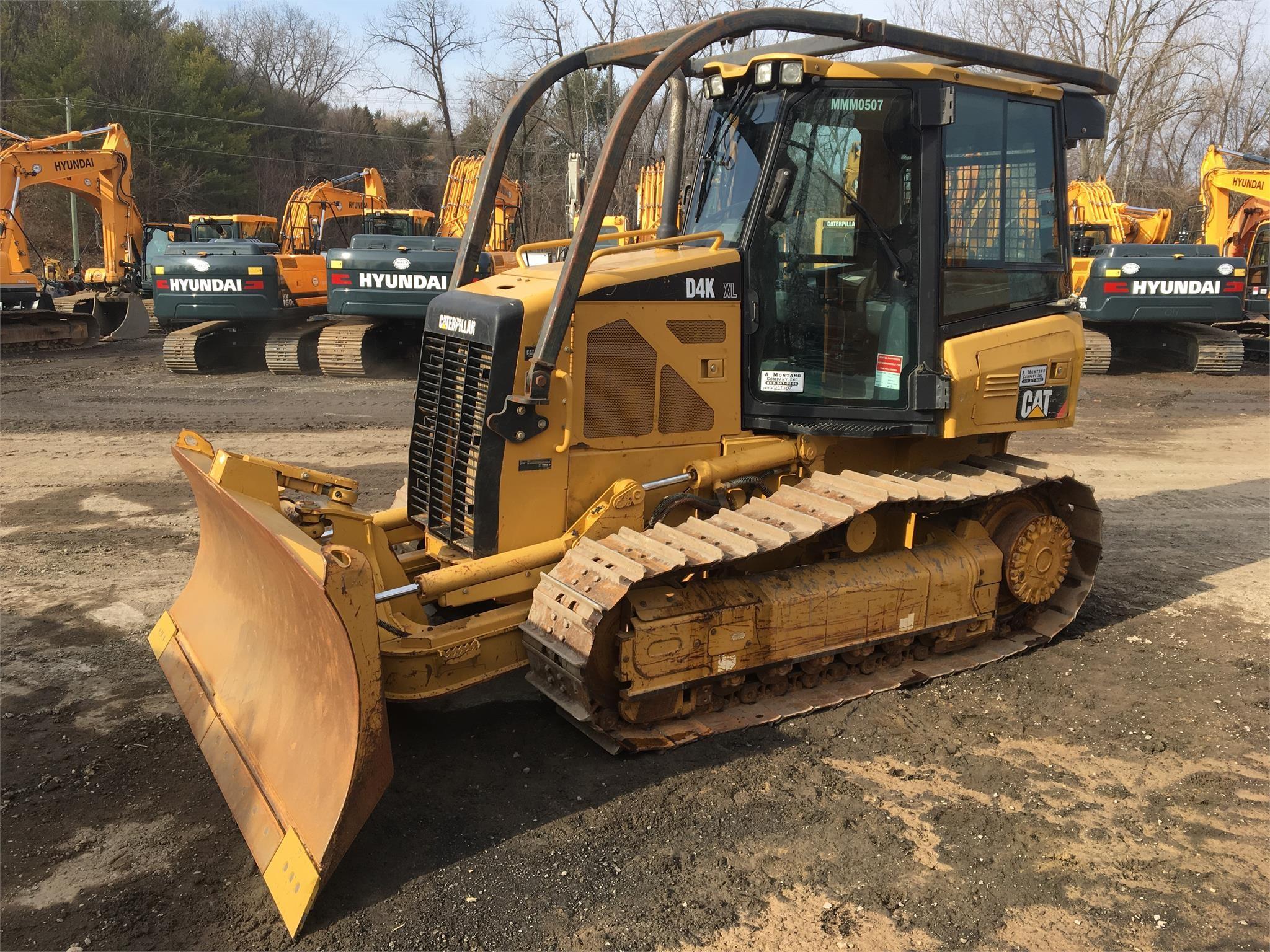 Detail photo of 2010 Caterpillar D4K XL from Construction Equipment Guide