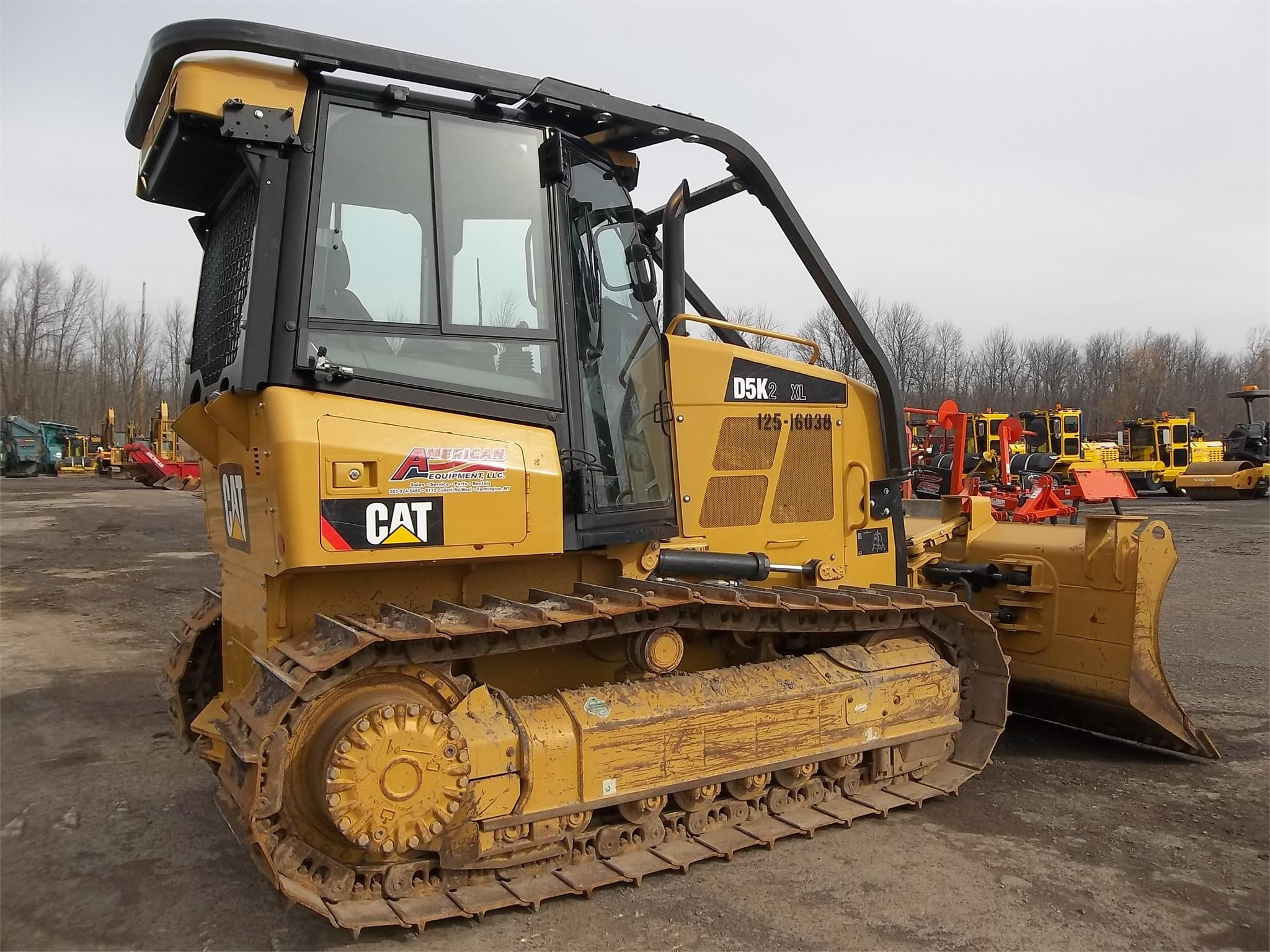 Detail photo of 2014 Caterpillar D5K II from Construction Equipment Guide