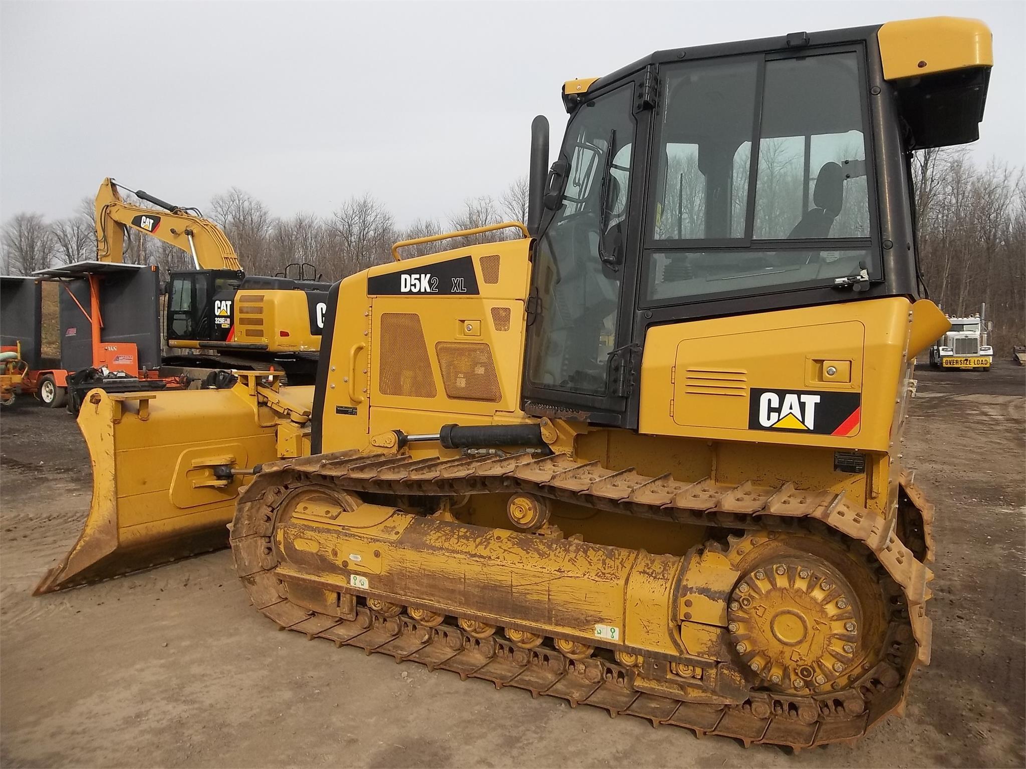 Detail photo of 2014 Caterpillar D5K II from Construction Equipment Guide