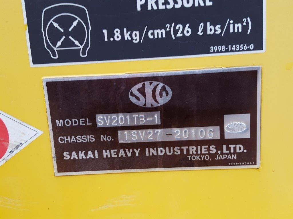 Detail photo of 2011 Sakai SV201TB-1 from Construction Equipment Guide