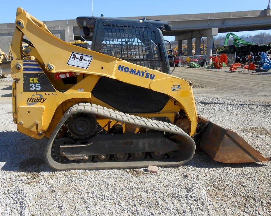 Detail photo of 2007 Komatsu CK35-1 from Construction Equipment Guide