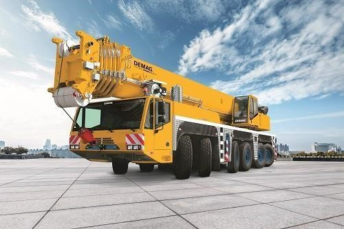 Detail photo of 2017 Terex AC 350-6 from Construction Equipment Guide