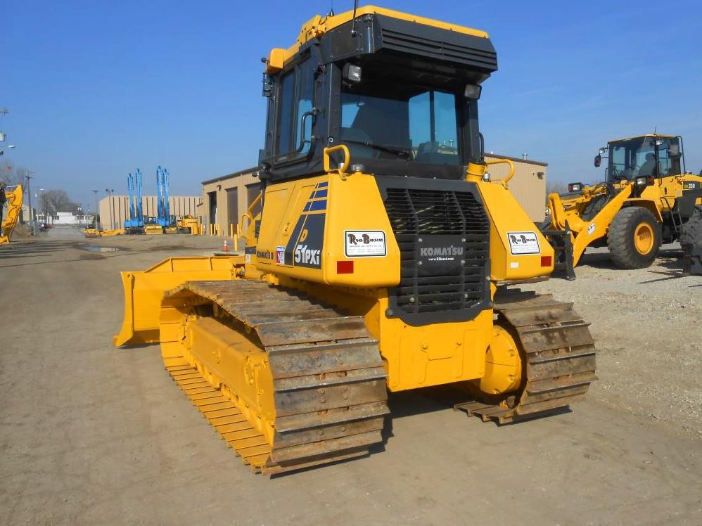 Detail photo of 2014 Komatsu D51PX-22 from Construction Equipment Guide