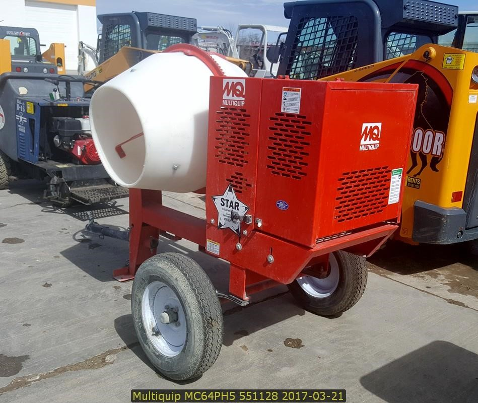 Detail photo of 2016 Multiquip MC64PH5 from Construction Equipment Guide