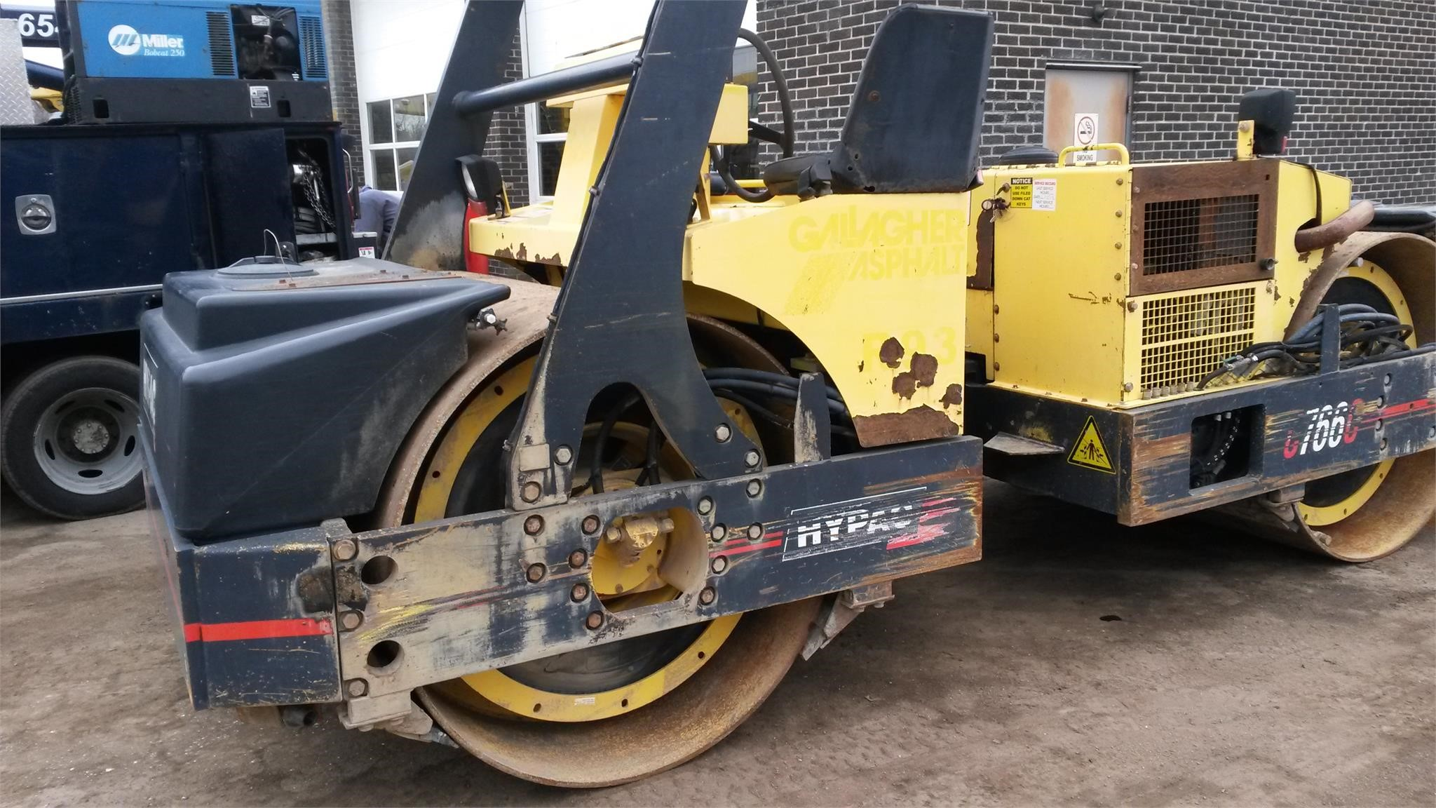 Detail photo of 2007 Hypac C766C from Construction Equipment Guide