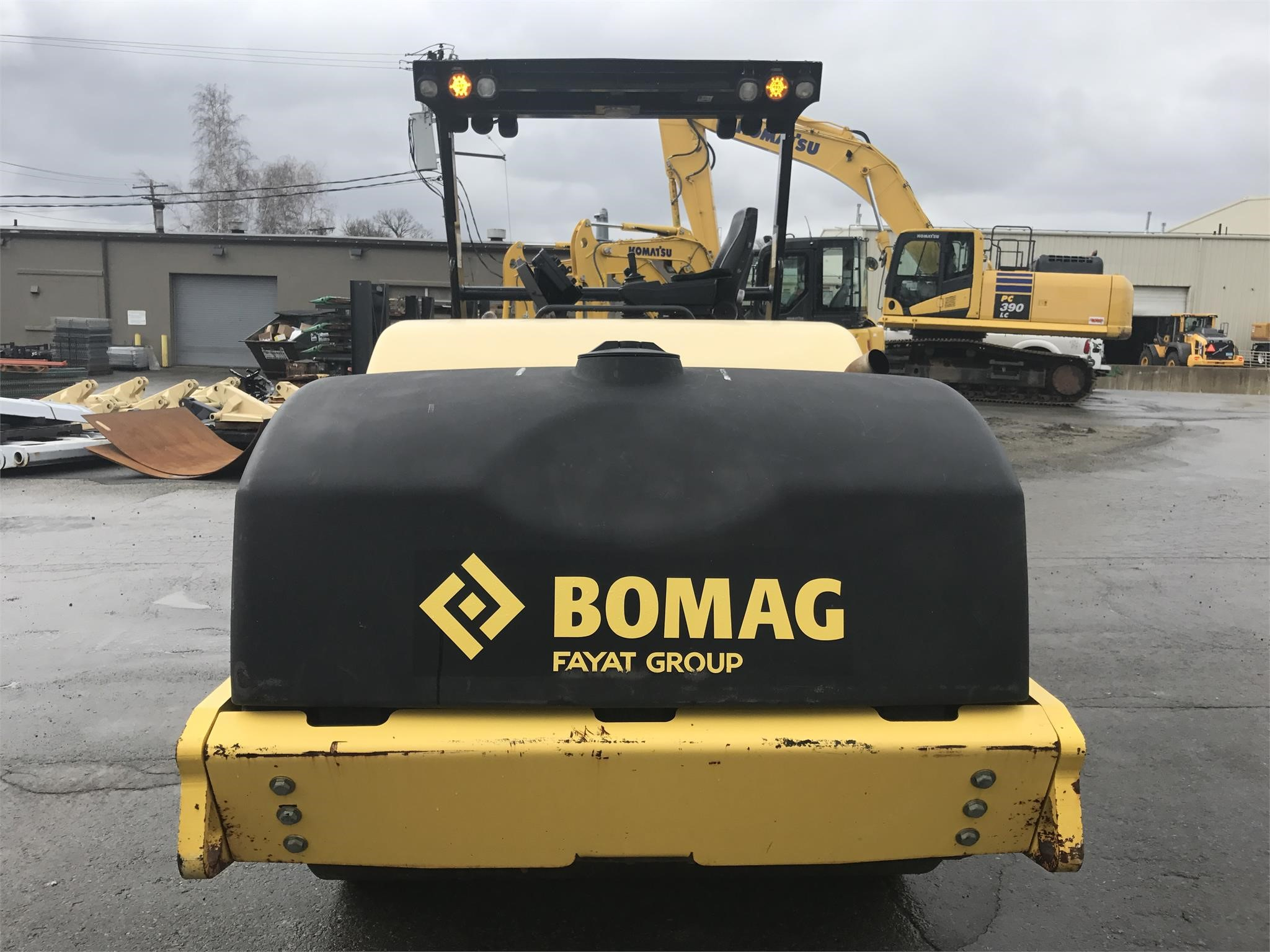 Detail photo of 2013 Bomag BW 266 AD-4 from Construction Equipment Guide