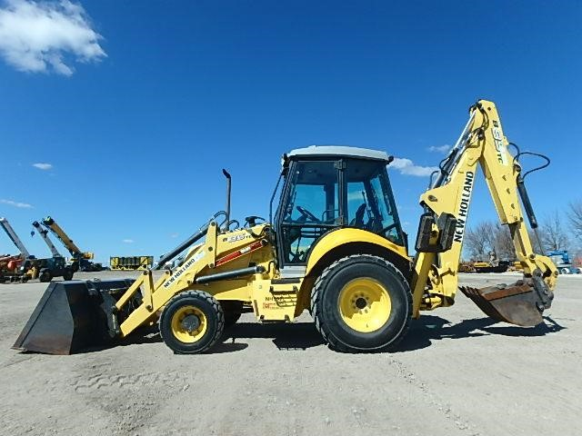 Detail photo of 2008 New Holland B95C TC from Construction Equipment Guide