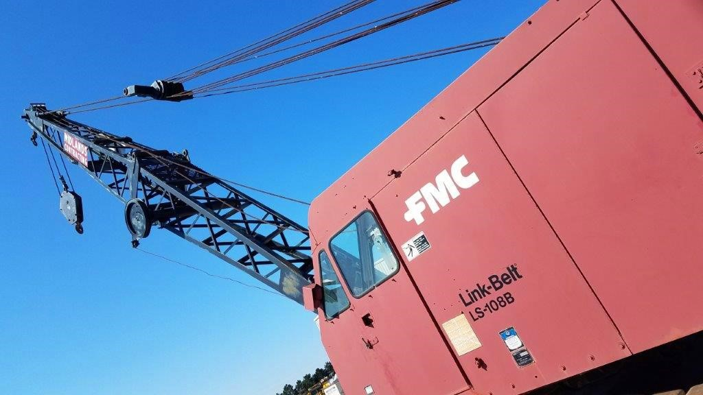 Detail photo of 1975 Link-Belt LS-108B from Construction Equipment Guide