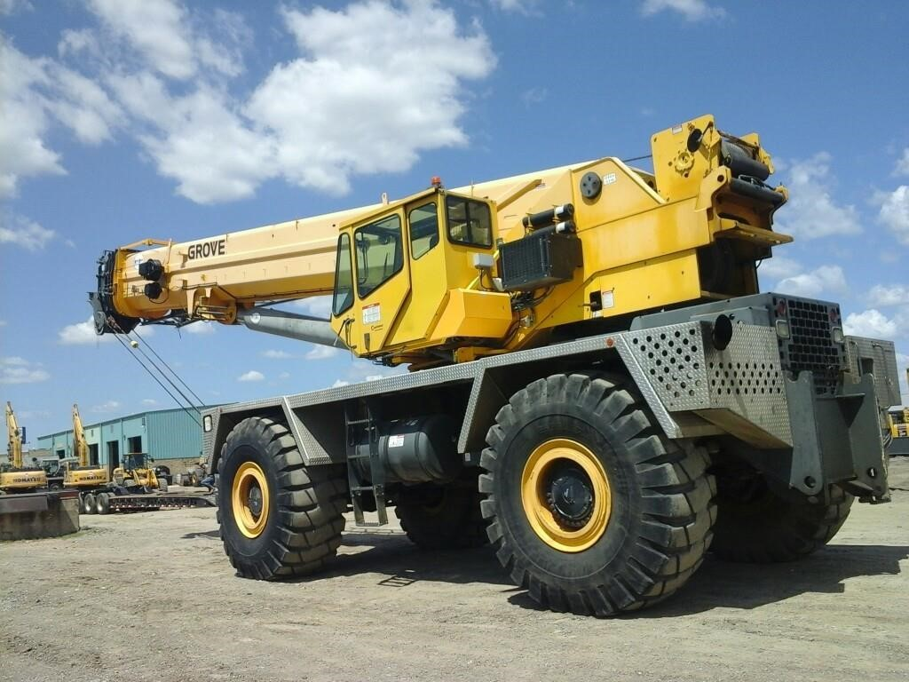 Detail photo of 2006 Grove RT9130E from Construction Equipment Guide