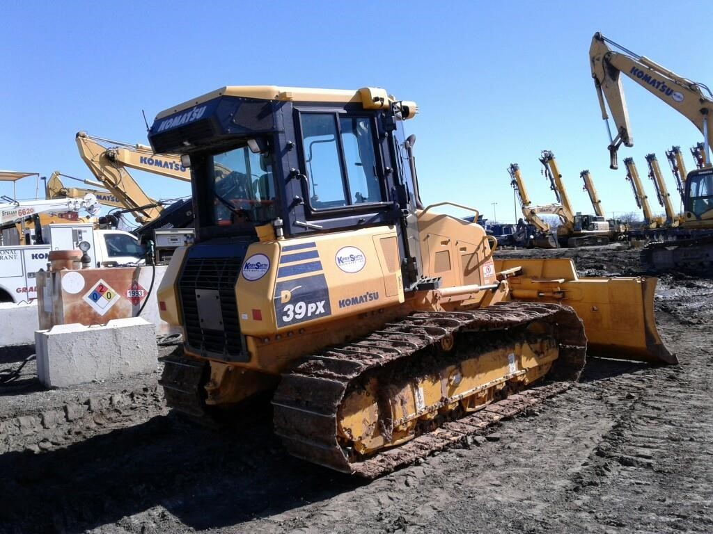 Detail photo of 2014 Komatsu D39PX from Construction Equipment Guide