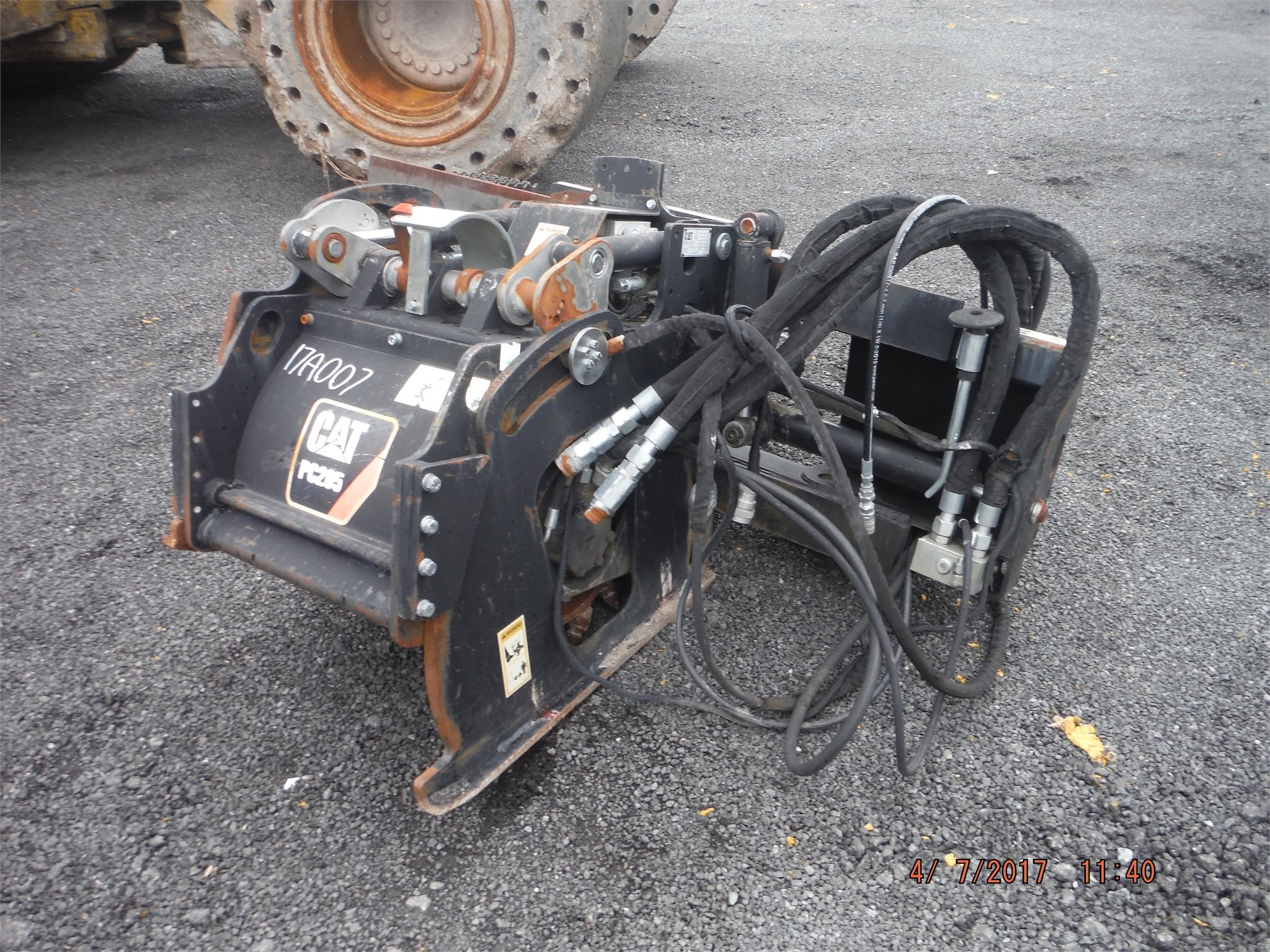 Detail photo of 2008 Caterpillar PC205 from Construction Equipment Guide