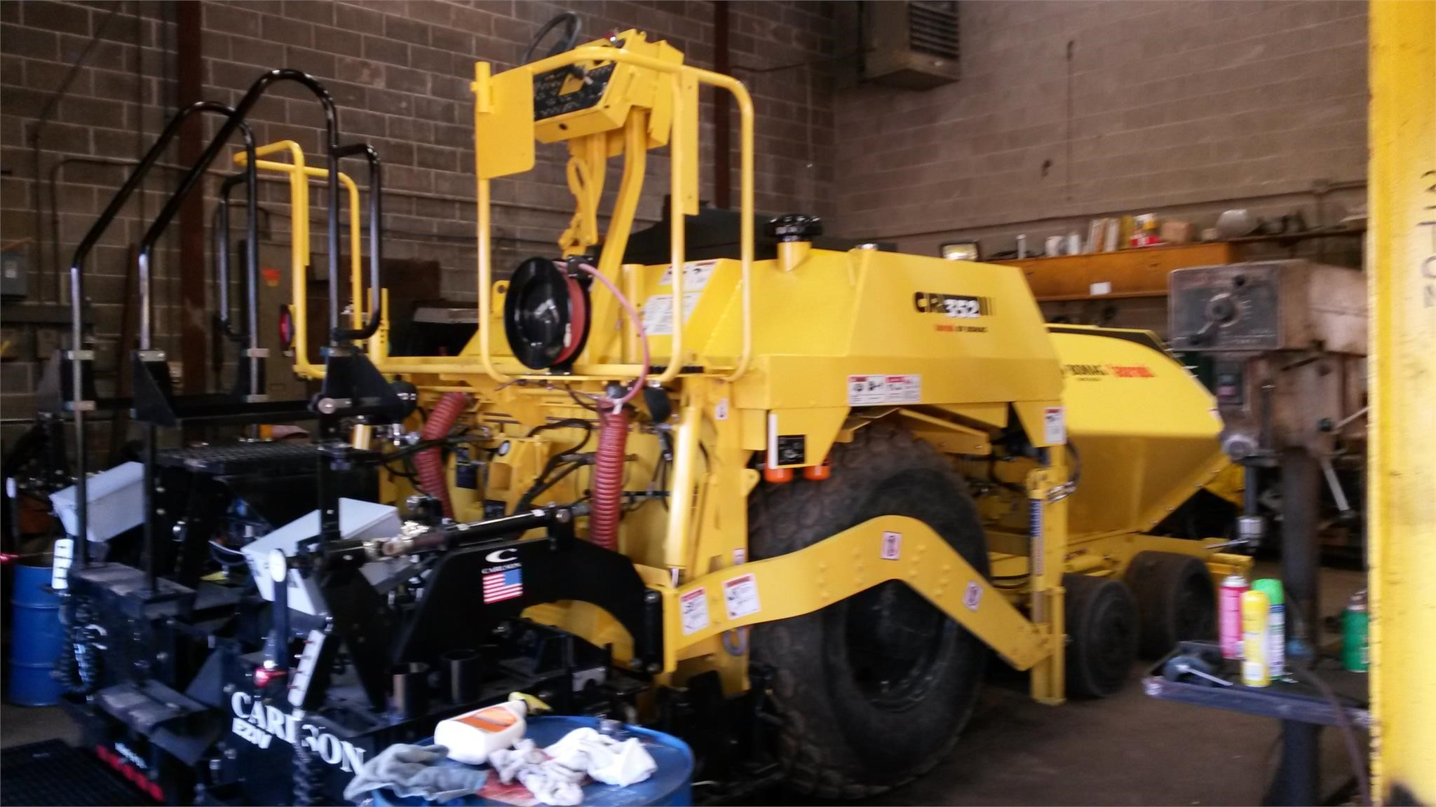 Detail photo of 2017 Bomag CR352L from Construction Equipment Guide