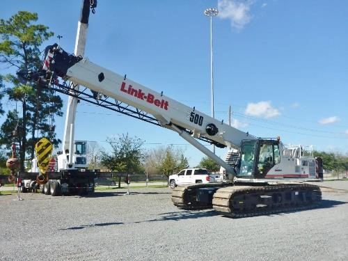 Detail photo of 2014 Link-Belt TCC-500 from Construction Equipment Guide