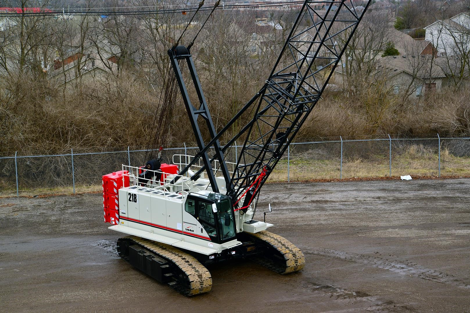 Detail photo of 2017 Link-Belt 218HSL from Construction Equipment Guide