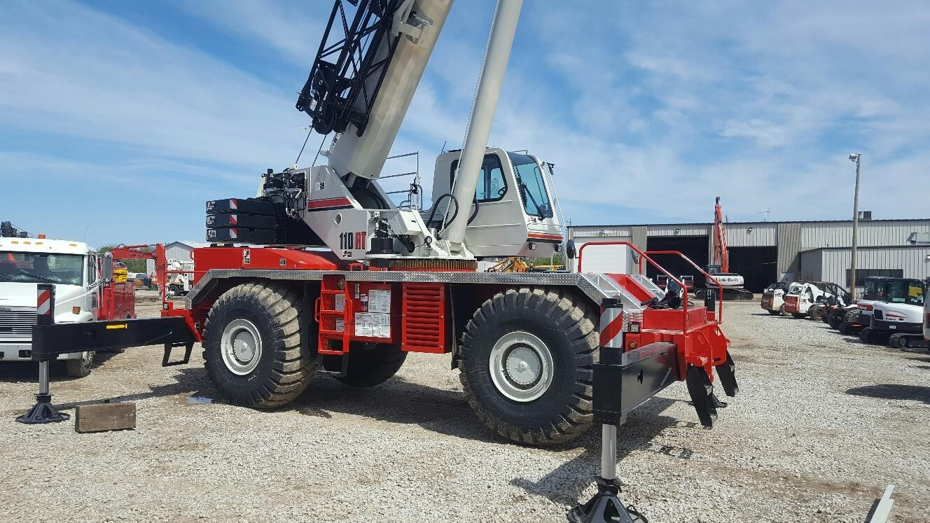 Detail photo of 2017 Link-Belt 110RT from Construction Equipment Guide