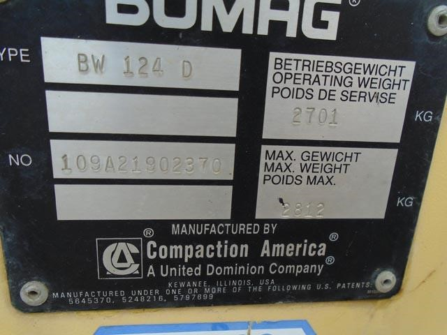 Detail photo of 2000 Bomag BW 142 D from Construction Equipment Guide