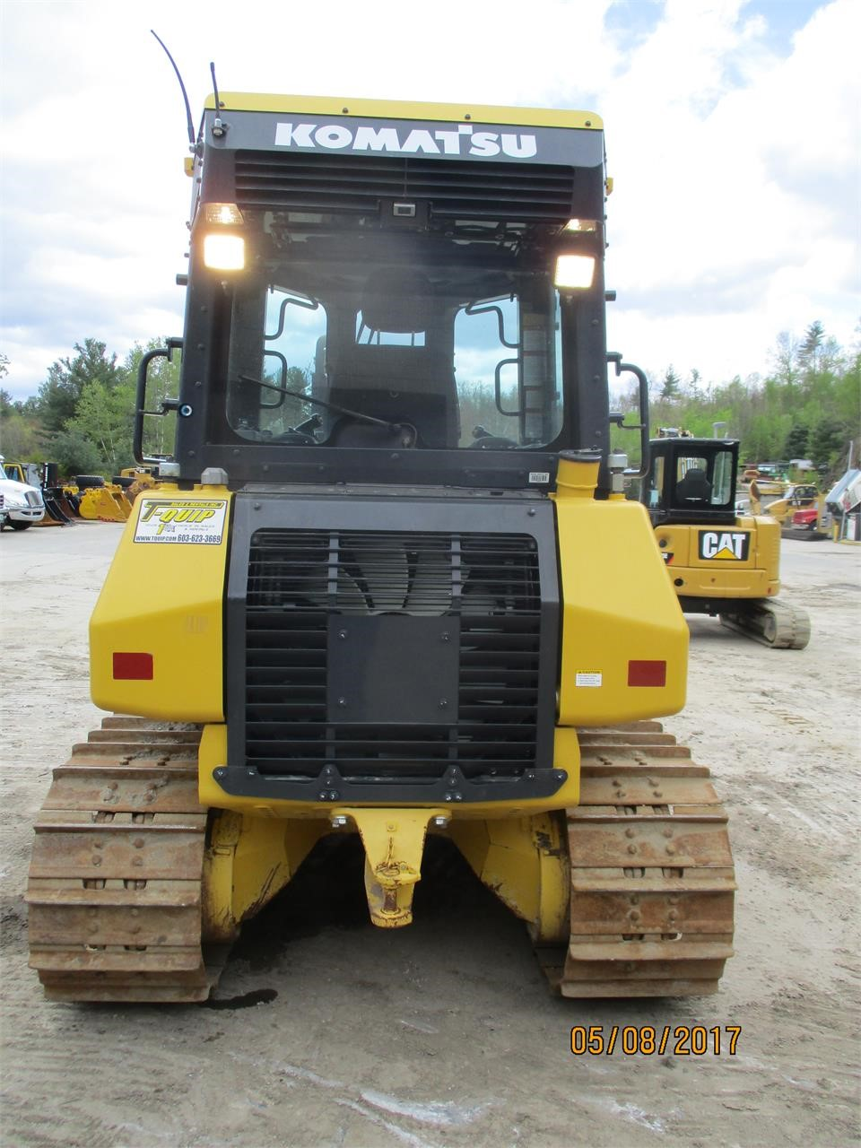 Detail photo of 2015 Komatsu D39Ex-23 from Construction Equipment Guide