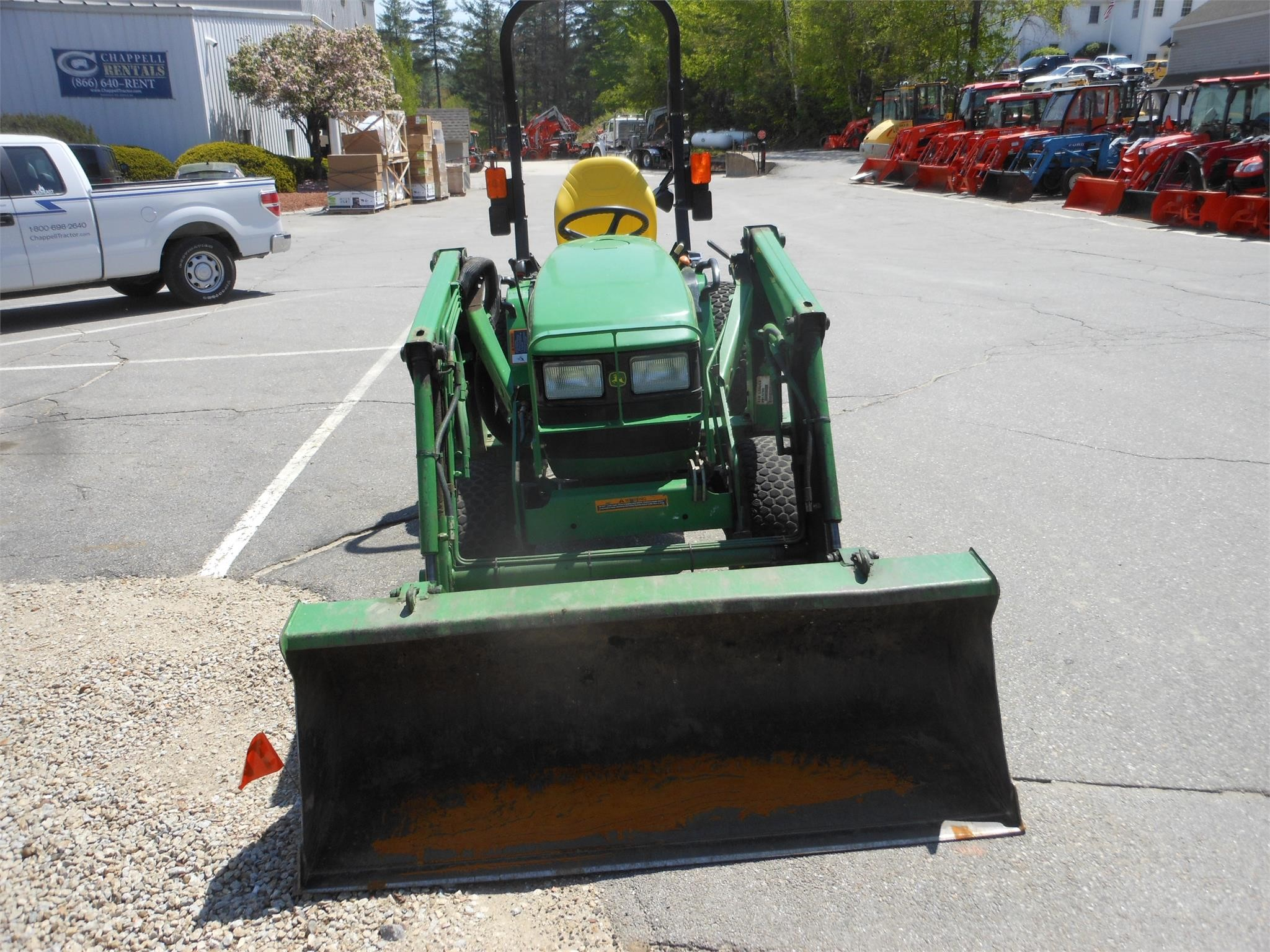 Detail photo of  John Deere 4115 from Construction Equipment Guide