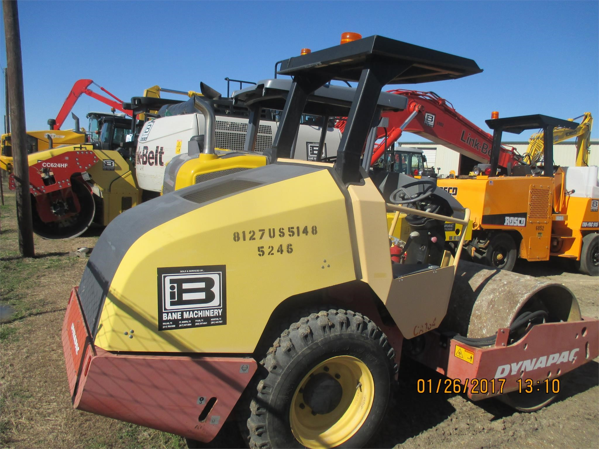 Detail photo of 2008 Dynapac CA134D from Construction Equipment Guide