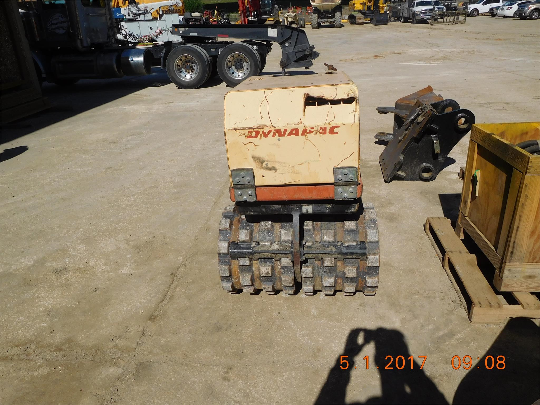 Detail photo of 2008 Dynapac LP8500 from Construction Equipment Guide