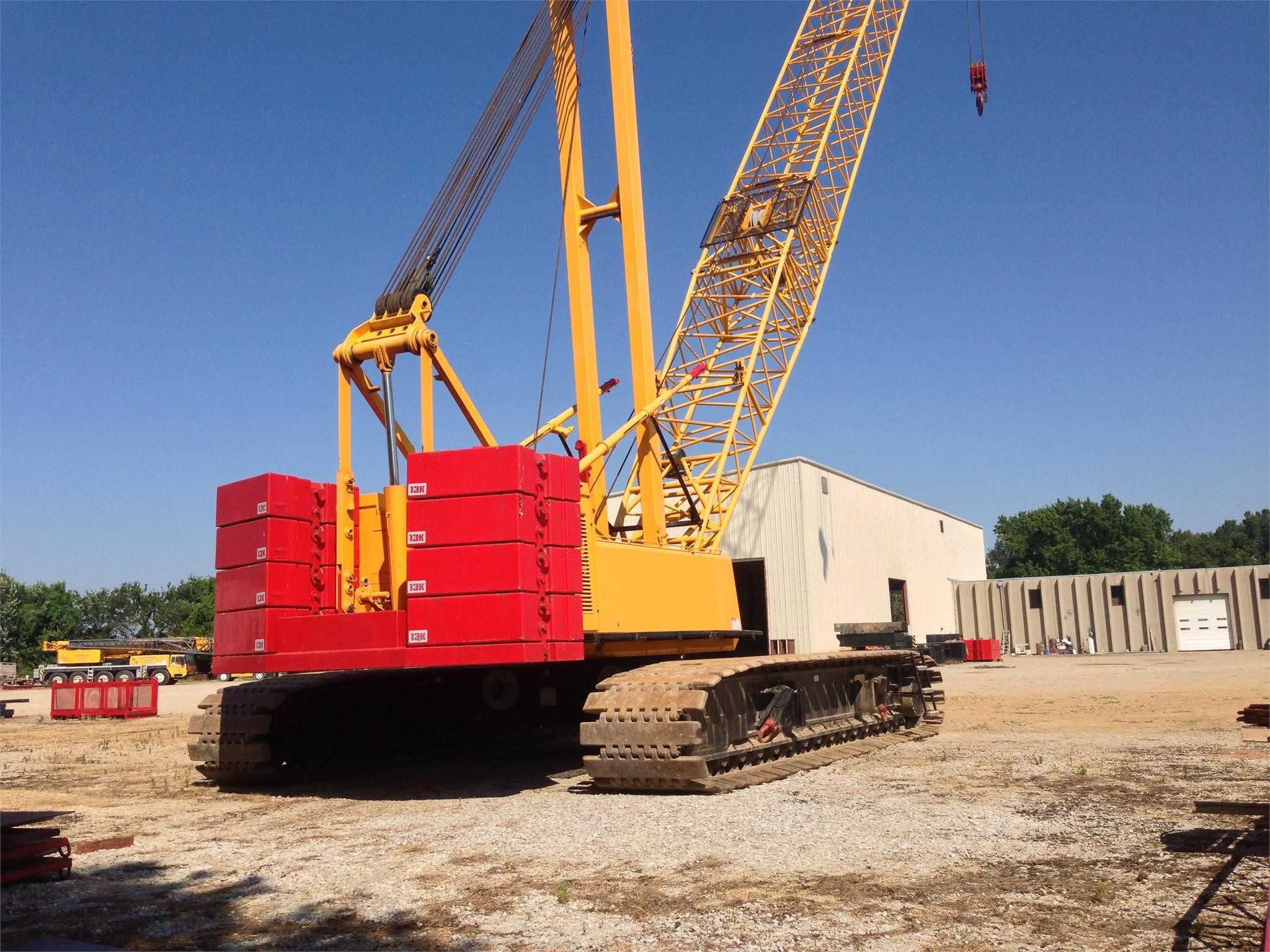 Detail photo of 2000 Link-Belt LS-278H from Construction Equipment Guide