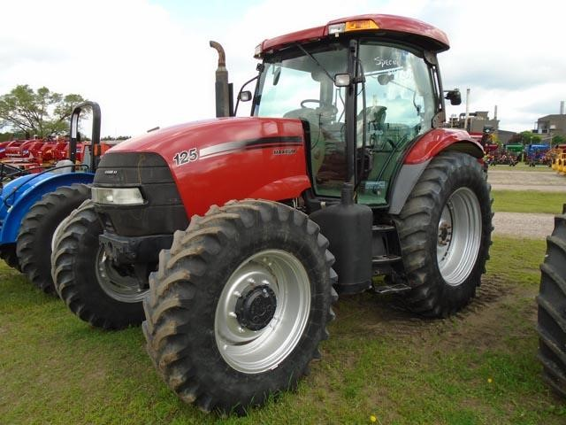 Detail photo of 2009 Case IH MAXXUM EP 125 from Construction Equipment Guide