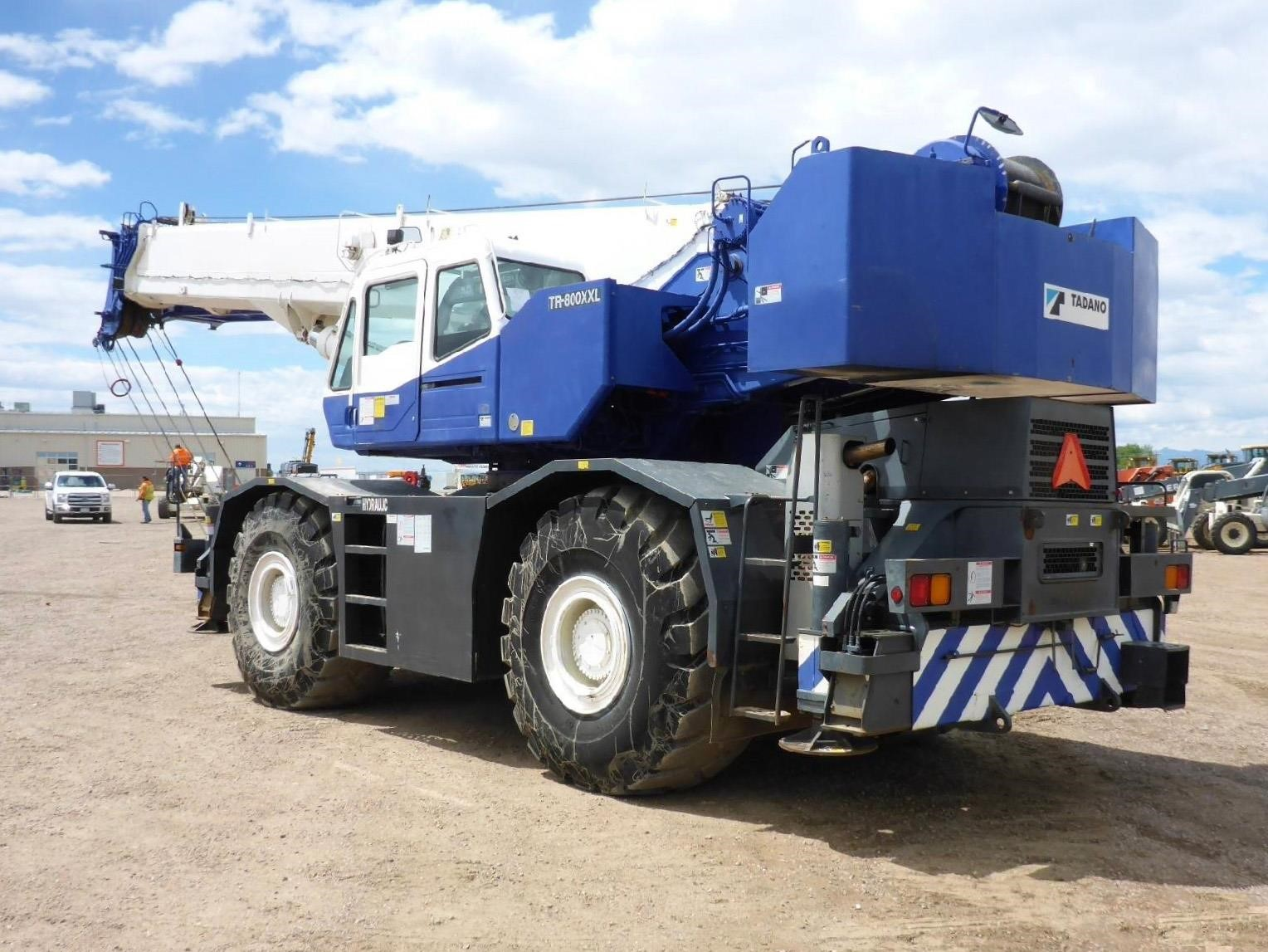 Detail photo of 2004 Tadano TR-800XXL-4 from Construction Equipment Guide