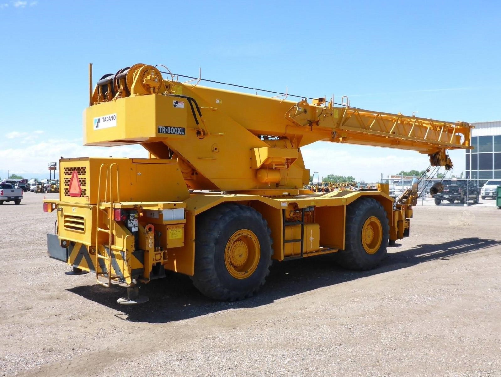 Detail photo of 2007 Tadano TR300 XL-4 from Construction Equipment Guide