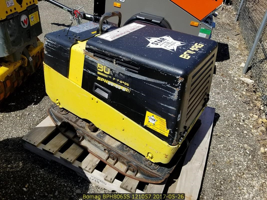 Detail photo of 2008 Bomag BPH 80/65S from Construction Equipment Guide
