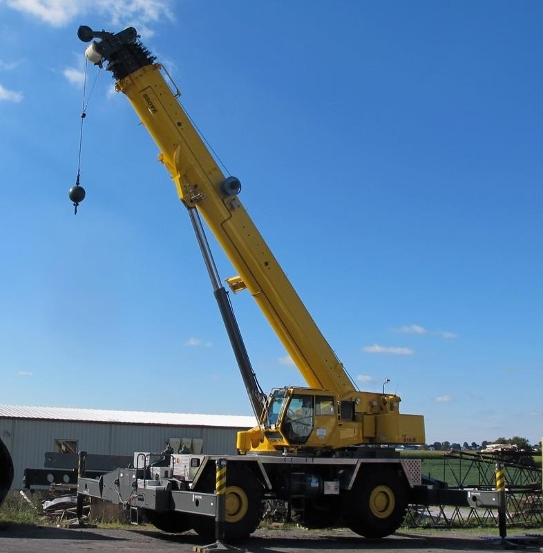 Detail photo of 2012 Grove RT9150E from Construction Equipment Guide