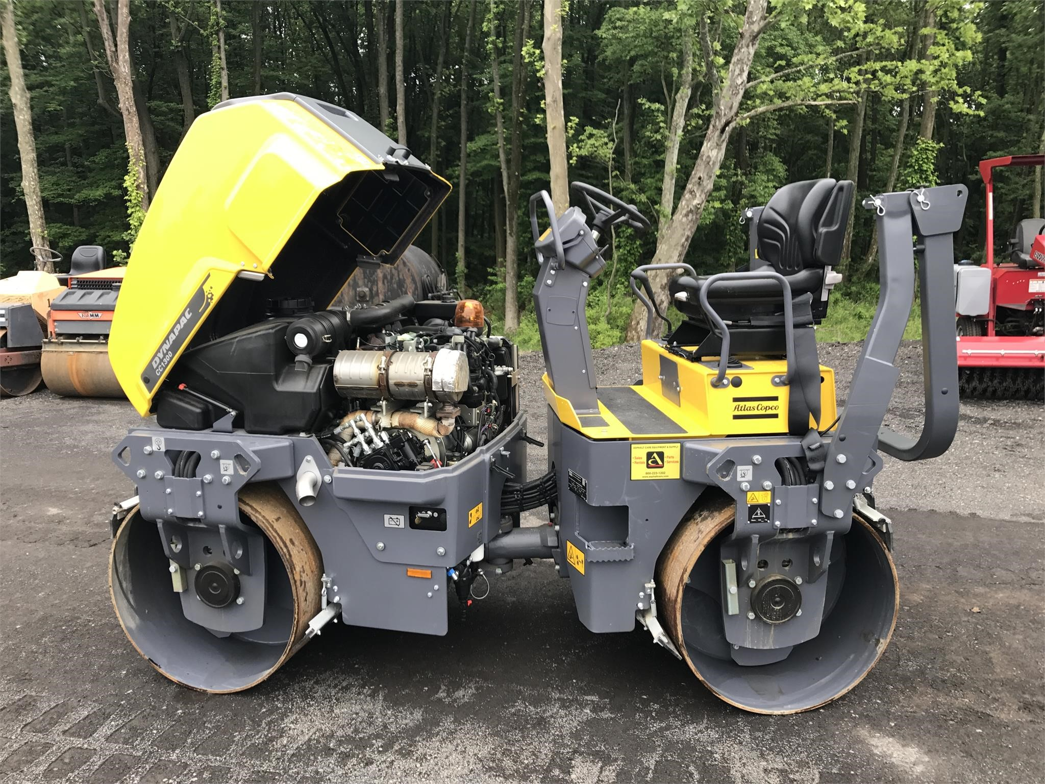 Detail photo of 2017 Dynapac CC1300 from Construction Equipment Guide
