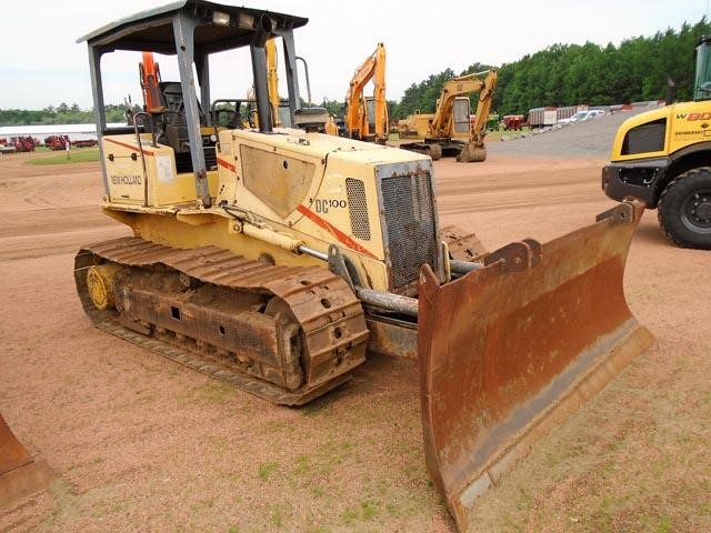 Detail photo of 2000 New Holland DC100 from Construction Equipment Guide