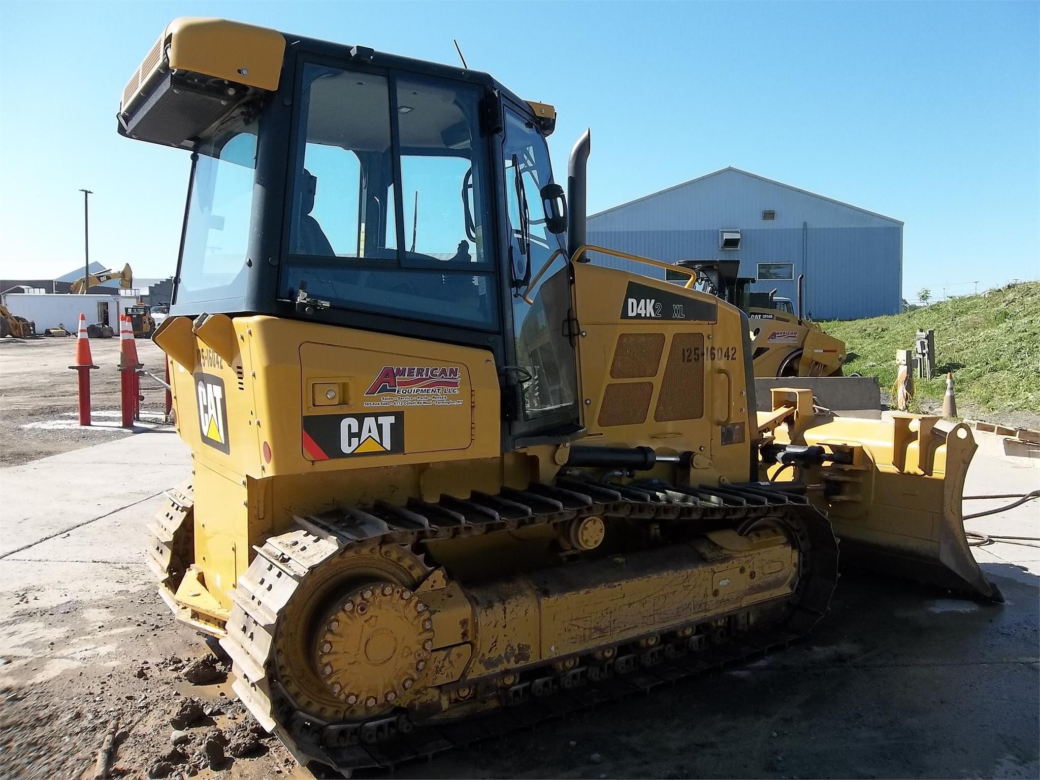 Detail photo of 2014 Caterpillar D4K XL II from Construction Equipment Guide
