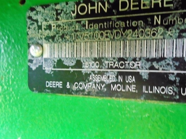 Detail photo of 2010 John Deere 5100E from Construction Equipment Guide