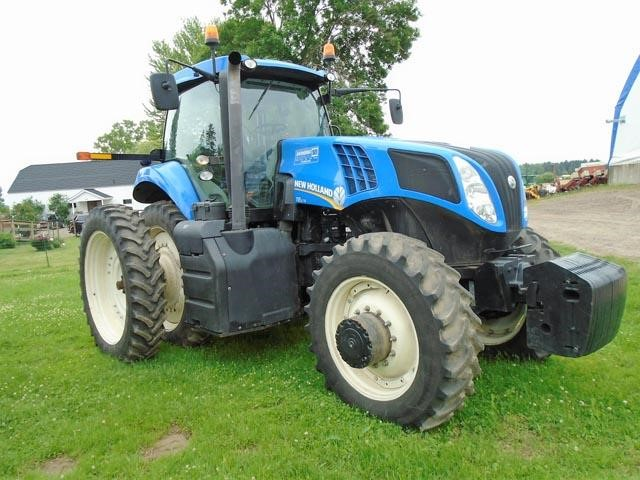 Detail photo of 2013 New Holland T8.275 from Construction Equipment Guide